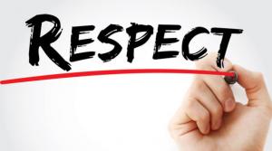 Respectul nu se impune prin lege