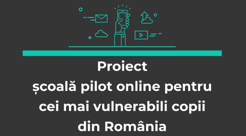 You are currently viewing Școală pilot online – în afara contextului pandemic