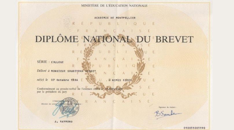 You are currently viewing Evaluarea Națională 2021 la matematică din Franța