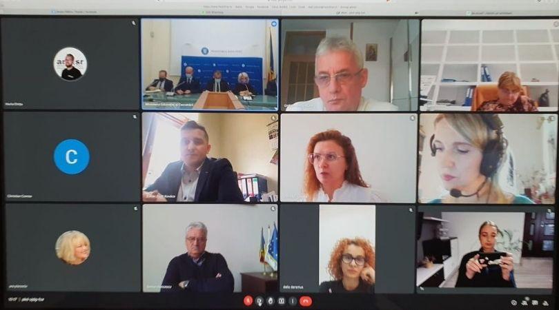 You are currently viewing Sedința Comisiei de Dialog Social organizată de Ministerul Educației – 11 octombrie 2021