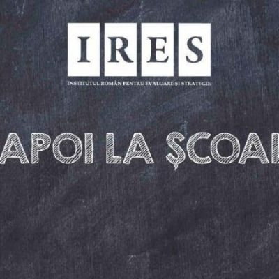 Studiu Ires - inapoi la scoala
